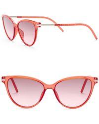 709eaf07d41d Marc By Marc Jacobs Women's Cat Eye Sunglasses - Lyst