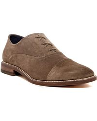 Joseph Abboud - Aaron Leather Lace-up Loafer - Lyst