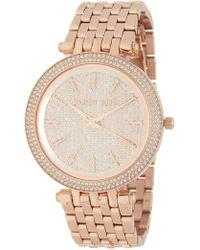 MICHAEL Michael Kors - Darci Bracelet Watch, 39mm - Lyst