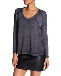 Lucky Brand - Thermal Mixed Knit Pullover - Lyst