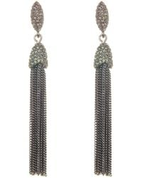 Vince Camuto - Chain Tassel Earrings - Lyst