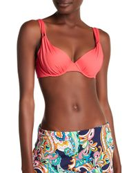 Tommy Bahama - Solid Underwire Bikini Top - Lyst