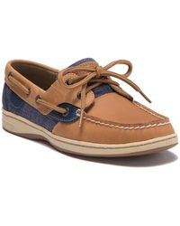 Sperry Top-Sider - Bluefish Heathered Sahara Boat Shoes - Lyst