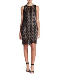 Sharagano | Lace Sheath Dress (petite) | Lyst