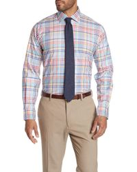 Robert Talbott - Crespi Iv Plaid Long Sleeve Tailor Fit Shirt - Lyst