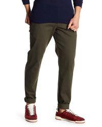 Parke & Ronen - Solid Stretch Knit Moleskin Trousers - Lyst