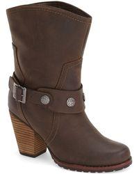 Eastland - 'bellamy' Belted Mid Boot (women) - Lyst