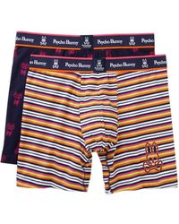 Psycho Bunny - Two Piece Boxer Brief Gift Set - Pack Of 2 - Lyst
