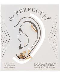 Dogeared - The Perfect Ear Earring Set - Lyst