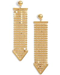 Argento Vivo - Mesh Earrings - Lyst
