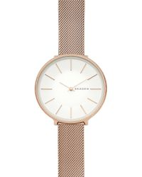 Skagen - Women's Karolina Mesh Strap Watch, 38mm - Lyst