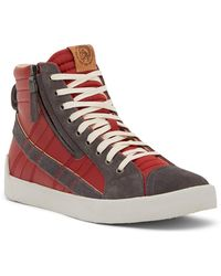DIESEL - D-velows D-string Plus Hi Top Sneaker - Lyst