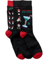 Tommy Bahama - Holiday Socks Gift Box Set - Pack Of 3 - Lyst