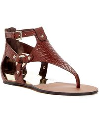 Vince Camuto - Averie Harness Wedge Sandal - Lyst