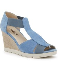 The Flexx | Lotto Wedge Sandal | Lyst