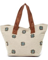 Deux Lux - Porto Jeweled Tote Bag - Lyst