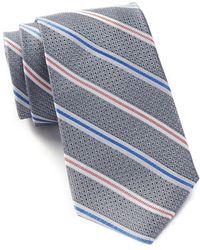 Ben Sherman - Silk Stripe Tie - Lyst