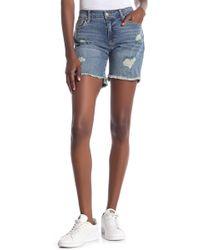 Joe's Jeans - Distressed Bermuda Shorts - Lyst