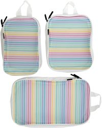 MIAMICA - Rainbow Packing Cubes 3-piece Set - Lyst