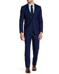 Spurr By Simon Spurr - Textured Modern-regular Suit - Lyst