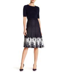 Lauren Hansen - Pull-on Knit Print Skirt - Lyst
