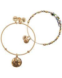 ALEX AND ANI | Holly Pendant & Bead 2-piece Bracelet Set | Lyst