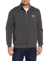 Tommy Bahama - Nfl Quiltessential Full Zip Sweatshirt - Lyst