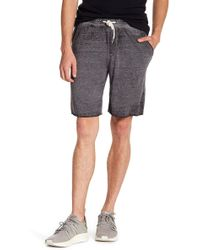 Threads For Thought - Burnout Terry Drawstring Short - Lyst