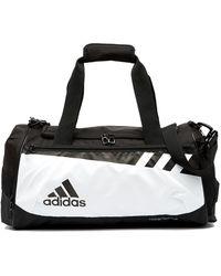 Lyst - Adidas Team Issue Small Duffle Bag in Green 63c3dbe4fc745