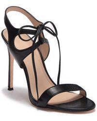Pour La Victoire - Elisa Leather Heel Sandal - Lyst