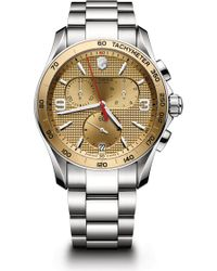 Victorinox | Men's Chrono Classic Bracelet Watch | Lyst