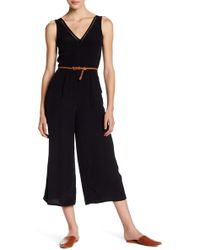Lucky Brand - Ladder Lace Jumpsuit - Lyst