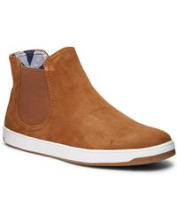 Tommy Bahama - Cove Palms Suede Chelsea Boot - Lyst