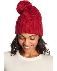 Michael Kors - Cable Knit Cuff Beanie - Lyst