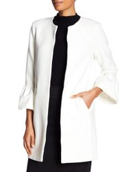 Catherine Malandrino - Ruffle Sleeve Jacket - Lyst