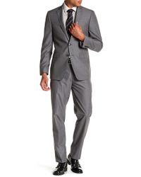 CALVIN KLEIN 205W39NYC - Mabry Pinstripe Two Button Notch Lapel Suit - Lyst
