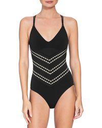 Robin Piccone - Naomi Crisscross One-piece Swimsuit - Lyst