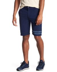7 For All Mankind - Chino Stripe Shorts - Lyst