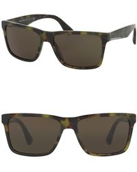 Prada - 59mm Square Conceptual Sunglasses - Lyst