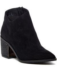 Kenneth Cole Reaction - Cue The Music Embellished Block Heel Boot - Lyst