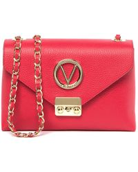 Valentino By Mario Valentino - Isabelle Leather Crossbody Bag - Lyst