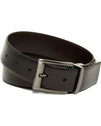 English Laundry - Leather Dress Belt - Lyst