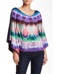 Sky - Draped Back Top - Lyst