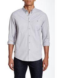 Oakley - Demand Woven Long Sleeve Regular Fit Shirt - Lyst