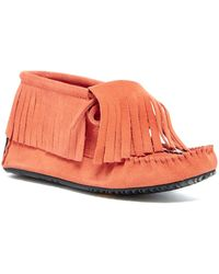 Manitobah Mukluks - Paddle Suede Moccasin - Lyst