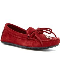 Manitobah Mukluks - Canoe Suede Unlined Moccasin - Lyst