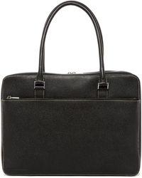 Porsche Design Leather Brief Bag - Black