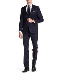 Spurr By Simon Spurr - Contrast Plaid Modern-regular Suit - Lyst