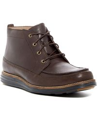 82409938f57 Lyst - Cole Haan Carter Grand Chukka Boot in Black for Men