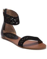 Nicole Miller - St. Martin Ankle Strap Sandal - Lyst